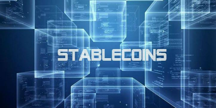 Supply of stablecoins